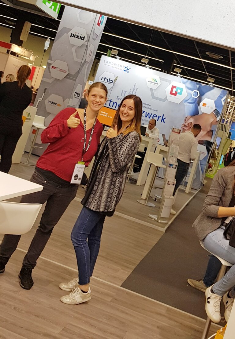Zukunft Personal_Carolin Schall und Alisa Neumann
